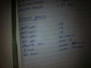 2009 goals..errr...I mean 2013? ;)